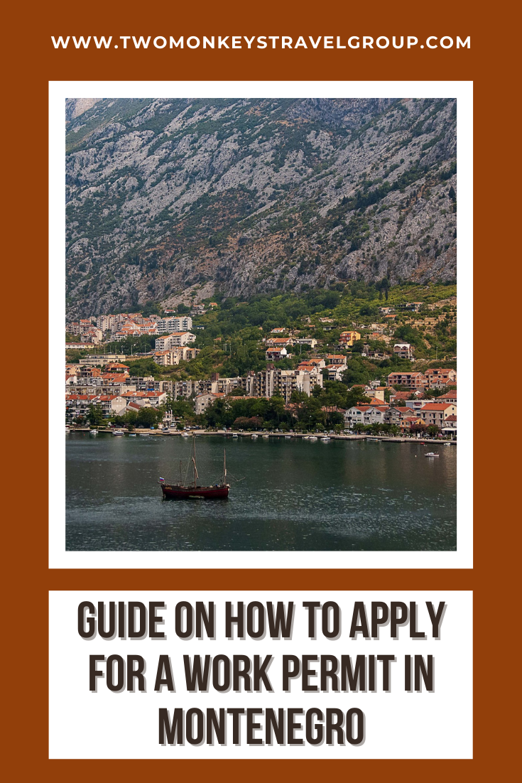 Guide on how to apply for a work permit in Montenegro