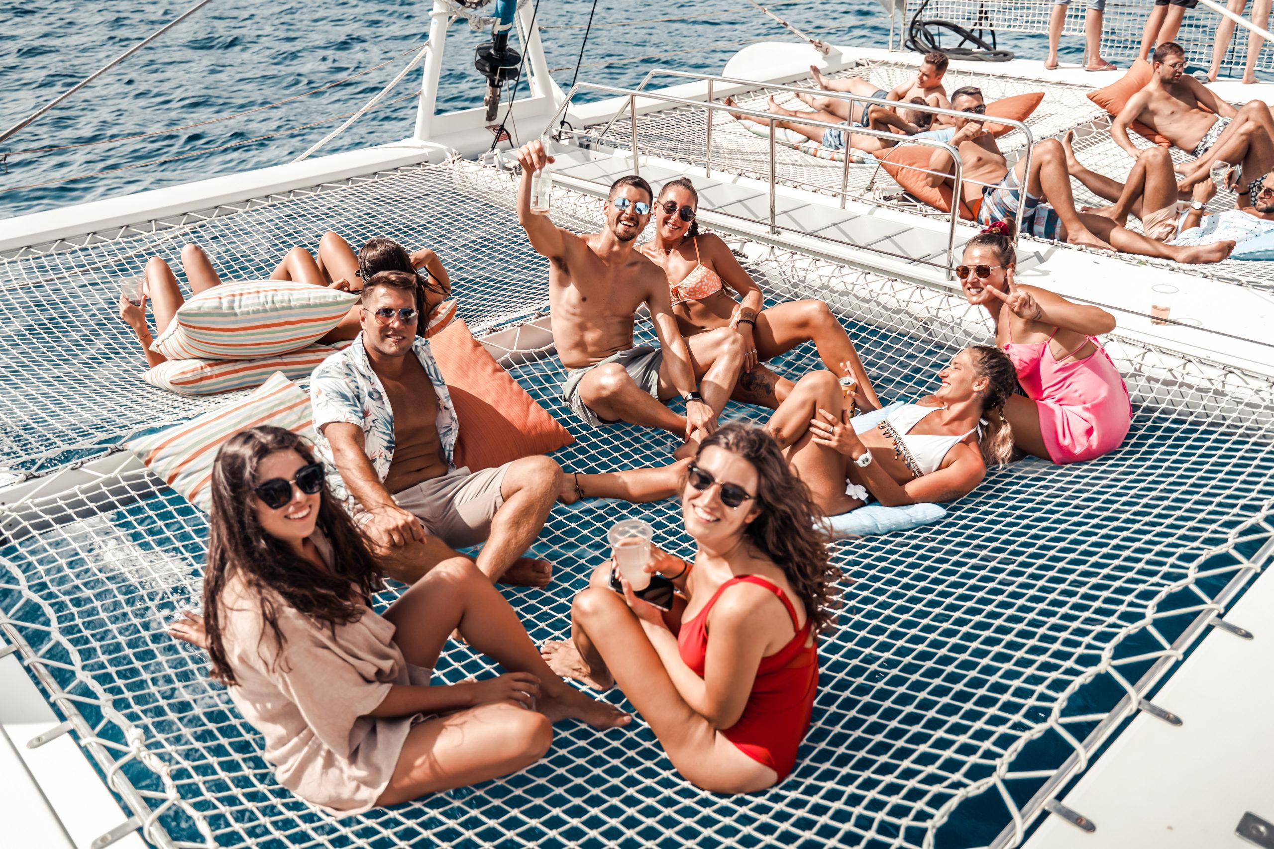 My Birthday Party at Catamaran Tahiti The Largest Sailing Party Boat in