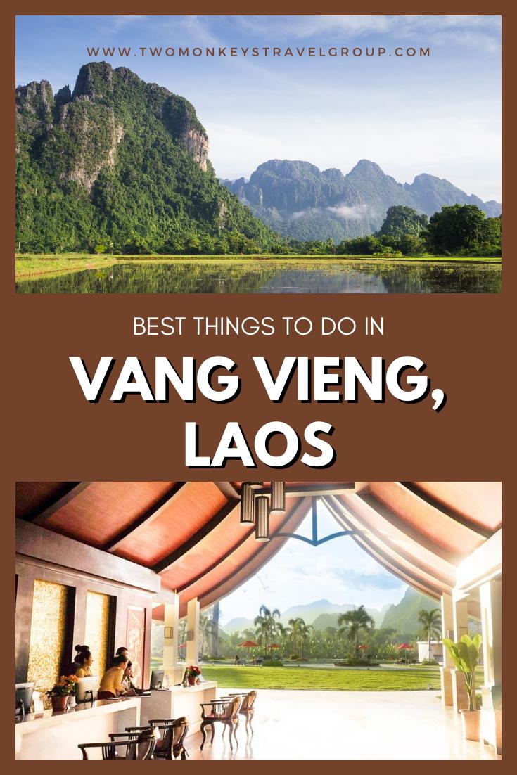 Las 5 mejores cosas que hacer en Vang Vieng, Laos [with Suggested Tours]