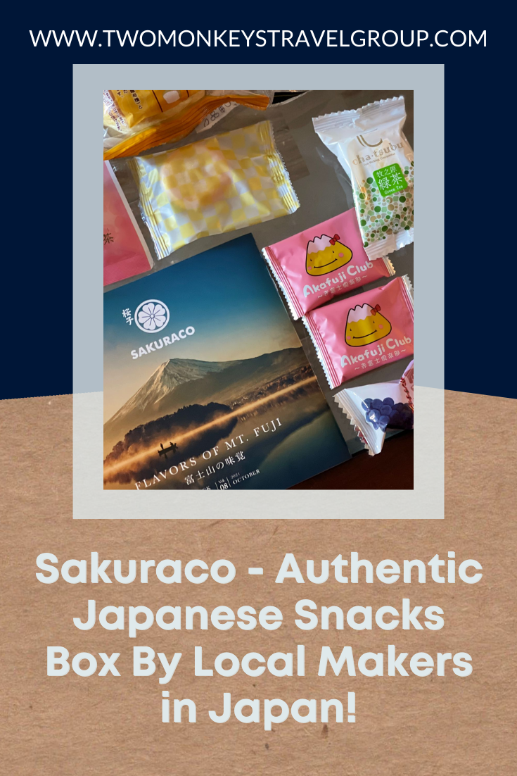 Sakuraco Authentic Japanese Snacks Box By Local Makers in Japan!